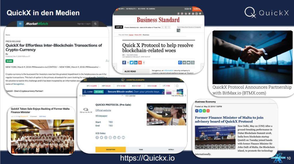 quickx informationen medien