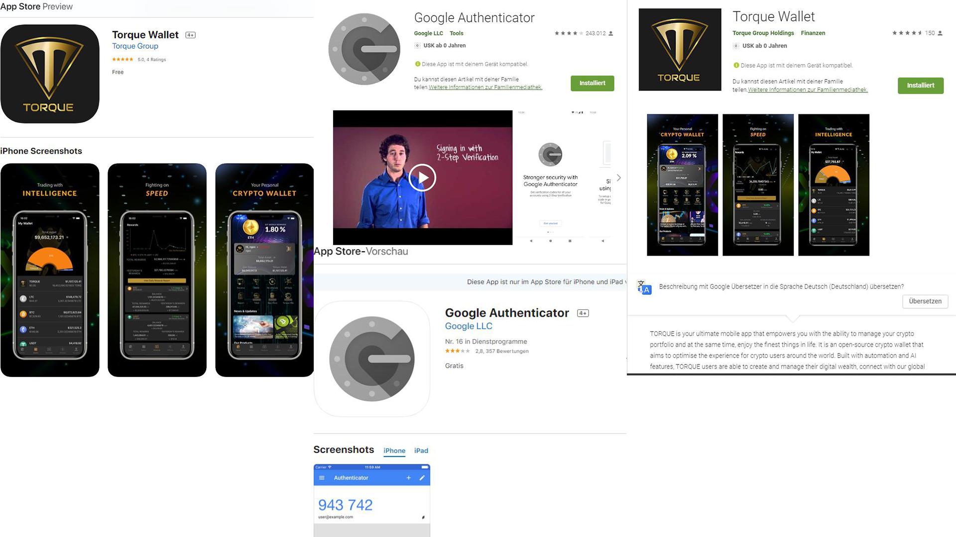 Torque Wallet Anmelden - Deutsche Schritt-für-Schritt Anleitung + Torque Wallet Referral Code - App