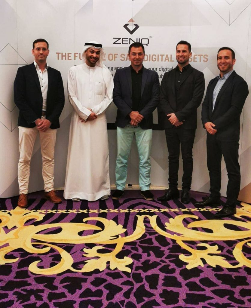 ZENIQ Partnerschaft mit Herrscher von Dubai